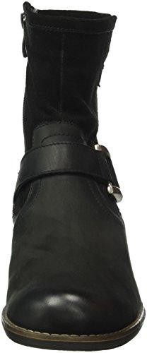 Caprice 25354, Bottes Classiques Femme Noir (Black Comb 19)