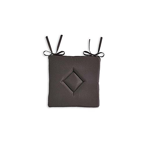 Today 261302cuscino classico poliestere 40x 40cm, poliestere, bronzo, 40x40x3 cm