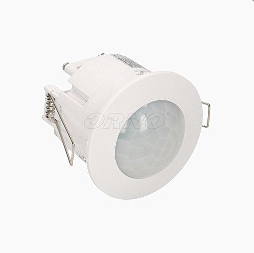 LED Bewegungsmelder 360° 10 - 1200 W Decken Einbau Infrarot Unterputz Weiss 207