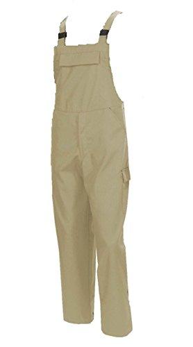 Schreinerhose Tischlerhose Arbeitshose Berufshose Latzhose Arbeitskleidung Berufskleidung sand (48N)