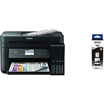 Epson EcoTank ET-3750 - Impresora, color negro + Cartucho negro + ...
