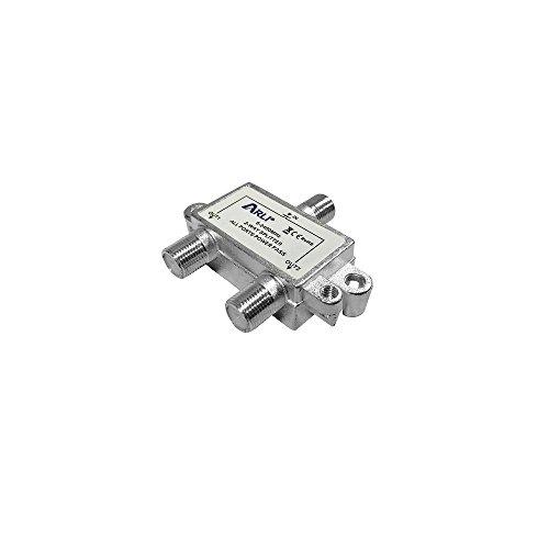 ARLI Sat BK-Verteiler Splitter 5-2400 MHz Digital Kabel F Buchse HD 4K