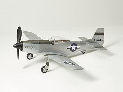 Maquette volante P51D-MUSTANG: Trousse d'avion en bois Balsa par Vintage Model Co | Extravagant