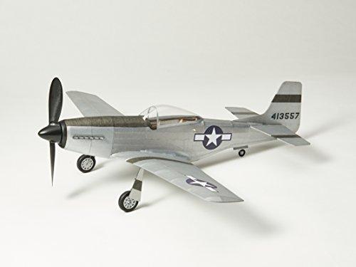 P51D-MUSTANG fliegendes Modell: Balsa Holz Flugzeug Kit von Vintage Model Co -