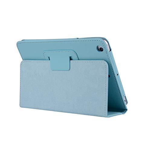 Treestar custodia protettiva per iPad 2/3/4, in finta pelle, orientabile, supporto Smart Cover con funzione Auto Sleep/Wake For iPad 2/3/4 Light Blu