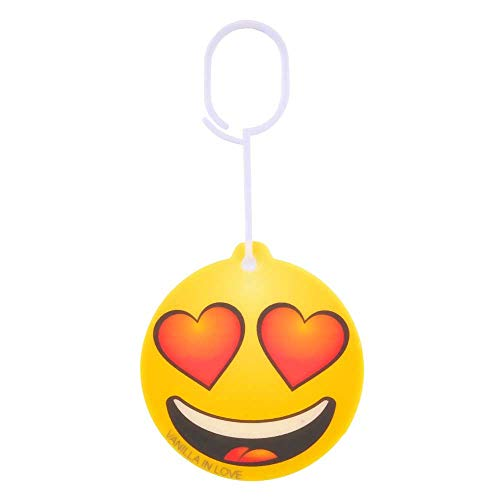 TOPPEN SWEDEN Car Air Freshener Emoticon Vanilla in Lov
