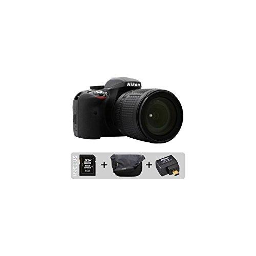 Nikon D3300  18-105 / 3.5-5.6 AF-S G DX ED VR Appareils Photo Numériques 24.7 Mpix