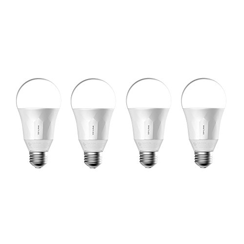 TP-Link Smart Wi-Fi LED Dimmable White Bulb with Tunable Voice Control (4 Pack)