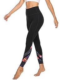 JOYSPELS Leggings Damen, Sporthose Lange Yogahosen, Sport Leggins für Damen Yoga Tights