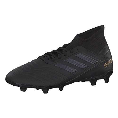 adidas Herren Predator 19.3 FG Fußballschuhe, Schwarz Core Black/Gold Met, 46 EU -