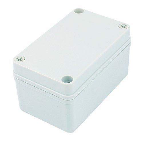 DealMux 130mm x 80mm x 70mm Plastic Waterproof Sealed Enclosure Case DIY Junction Box -
