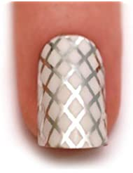 The Edge 'Trendy Nail Wraps - Get Nailed' White Elegance 3001304 by The Edge
