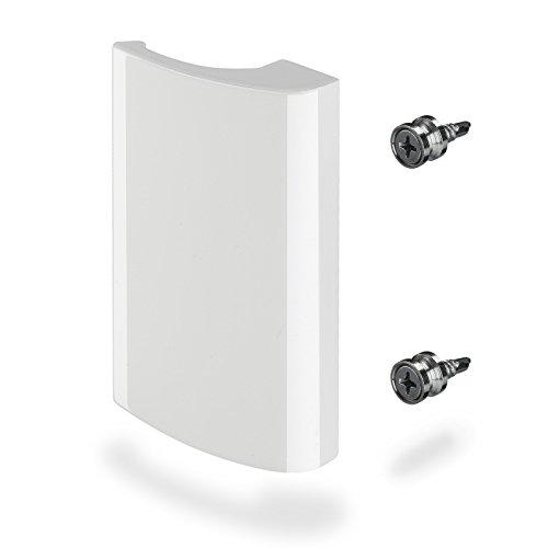 SO-TECH Balkontürgriff SEJA Aluminium 82 x 52 x 20 mm weiß Ziehgriff (Patio-tür-ersatz)