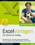 Produkt-Bild: Excelvorlagen für Verein & Hobby
