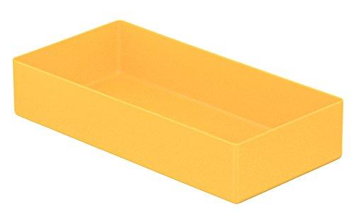 3er-Set Ablageschale für Stifte und Utensilien, gelb, Abm. ca. 200 x 100 x 40 mm (LxBxH)
