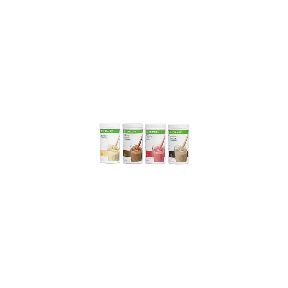 Herbalife Austria 4 X 550 G Formula 1 Shake Geschmacksrichtungen Nach Wunsch
