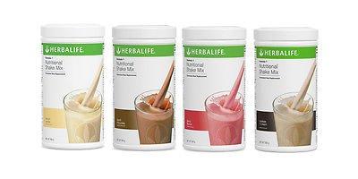 Herbalife Austria, 4 x 550 g Formula 1 Shake, Geschmacksrichtungen nach Wunsch