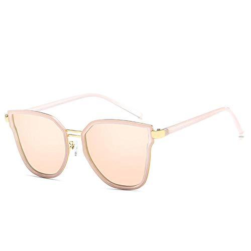 Polarisierte Sonnenbrillen, Neue Polarisierte Sonnenbrillen, Damen Retro Fashion Square, Trend European und American Street Shooting - Pink Frame Cherry Blossom Powder_Polarized Light