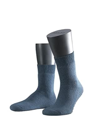 FALKE Unisex-Socken 16500 Homepads, Gr. 35/ 38 Blau (dark blue 6690)