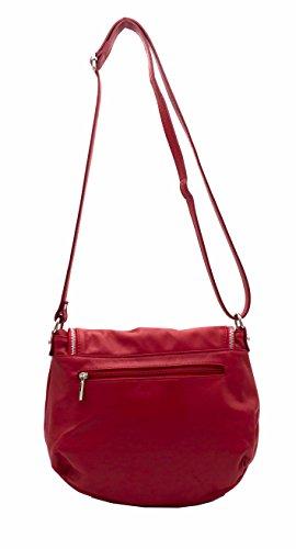 Hello Bag!, Borsa a tracolla donna Rosso