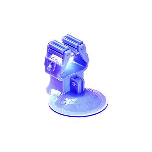 Besenhalterung Besen-Halter, Mopp-Halter Selbstklebend Besen Mop Aufhänger Halter Wandhalter Gerätehalter Schirmständer Küche Garten Badezimmer (Blau)