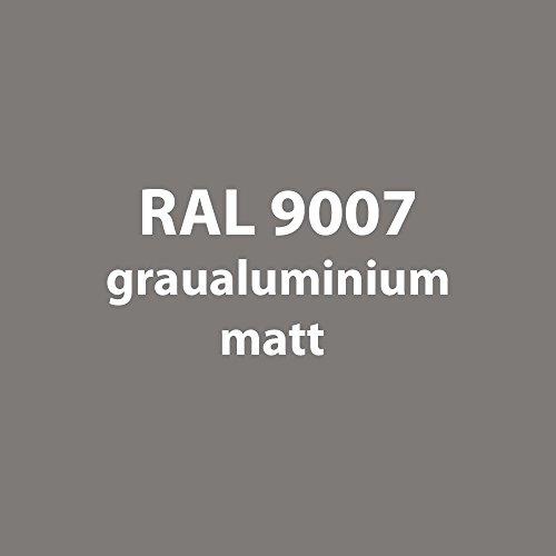 Tupflack 50 ml * viele verschiedene Farben * (RAL 9007 grau-aluminium matt)