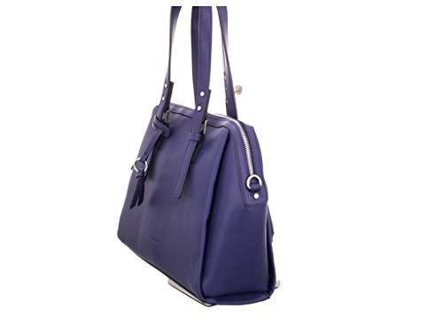 Gabor Damen Ambra Bowling Tasche (Blau),