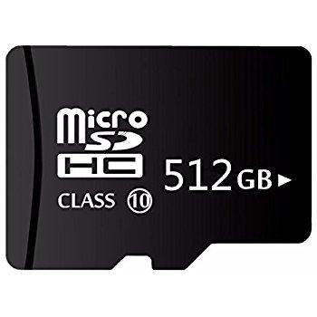 Scheda di memoria micro sd 512 gb / 512 go - capacita reale - sdxc, 95mb/s classe 10 u3 up memory + lettore di schede sd + adattatore reader - top quality