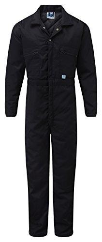 Blue Castle 377 - Tuta da lavoro, Cotone, Blu Navy, Large