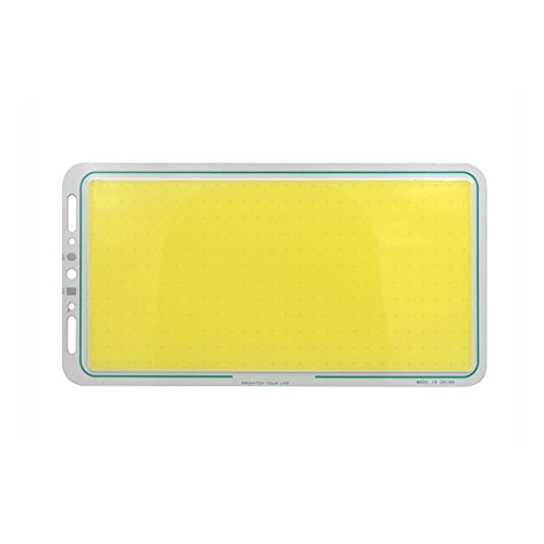 ONEVER 220X120mm 12V 70W COB-Panel Licht LED-Streifen-Form-Lampen-Soft & Balanced Lighting -Cool weiß (1PC) - Wärme N Cool