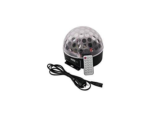 Eurolite LED BC-7 Strahleneffekt mit DMX, Spiegelkugeleffekt, 6x 1Watt RRGBAW