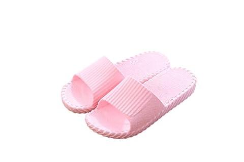 Youxuan Unisex Slippers Open Toe House Shoes Slip Resistance Slide Sandals Lightweight Shower Shoes