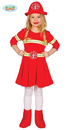 Guirca Gallischer-Feuerwehrmann Kostüm für Kinder, M, 83234 (Feuerwehrmann-kostüm Für Mädchen)