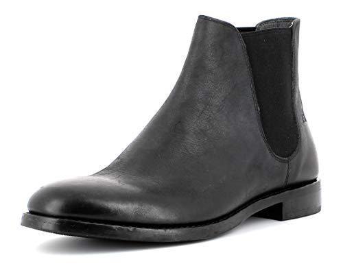 Gordon & Bros Herren Chelsea Boots Alessio S180785,Männer Stiefel,Halbstiefel,Stiefelette,Bootie,Schlupfstiefel,Black,EU 42