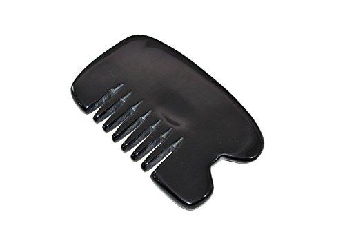 Peigne de corne antistatique naturel raclant des outils de boutique de massage L'emballage de sac d'OPP peut aider ?¡ì?¨¨ soulager des maux de t?¡ìote