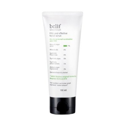 belif-mild-and-effective-facial-scrub-100ml-mild-soft-type