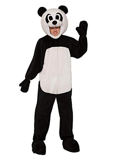 Forum Novelties Erwachsene Open Panda Maskottchen Kostüm - Mehrfarbig - (Panda Maskottchen Kostüm Für Erwachsene)