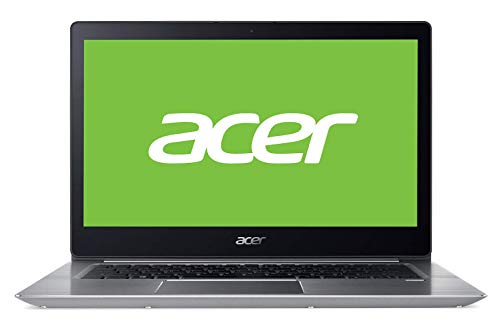 "Acer Swift SF314-52-787X - Ordenador Portátil de 14"" FullHD (Intel Core i7-7500U, 8 GB RAM, 256 GB SDD, Intel HD Graphics, Windows 10); Plateado - Teclado QWERTY Español"