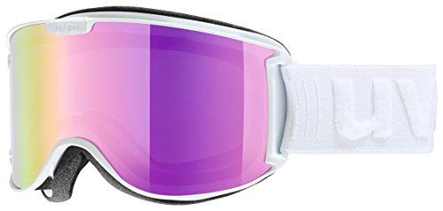 Uvex Unisex Erwachsene Skyper LM Skibrille, White, One Size