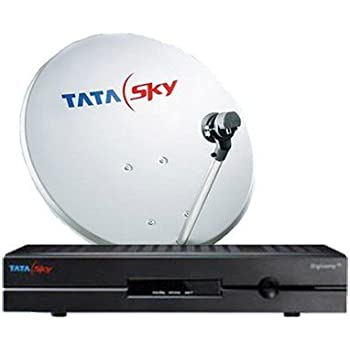 TATASKY TSD Set Top Box with 1 Year Dhamaal Mix