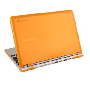 mcover-hard-shell-case-for-116-samsung-chromebook-wi-fi-or-3g-laptop-orange