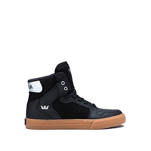 pick up f8820 34ecf Supra Kids Vaider, Sneaker a collo alto Unisex – Bambini, Nero (Black