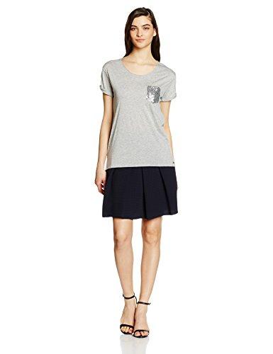 BOSS Orange Damen T-Shirt Tamiasa Grau (medium Grey 032)