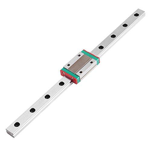 MGN12H Guide Linéaire du Rail 250/ 300/ 400/ 500/ 550mm Guide Linéaire Coulissant Avec MGN12H Bloc de Chariot pour Imprimante 3D DIY et Machine de Commande Numérique par Ordinateur