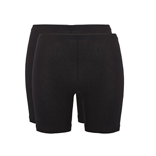 Ten Cate Damen Mieder-Hose mit langem Bein BASIC 2-Pack - Baumwoll-Mix - weiß - Größe XXL (TC-30196-001-XXL)