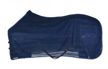 PFIFF 102309-20-155 Fliegendecke Pferd -Brimfly- Pferdedecke, Einheitsgröße, blau