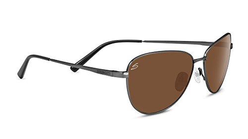 Preisvergleich Produktbild Serengeti Eyewear Sonnenbrille Gloria,  Shiny Dark Gunmetal / Polarized Drivers,  8415