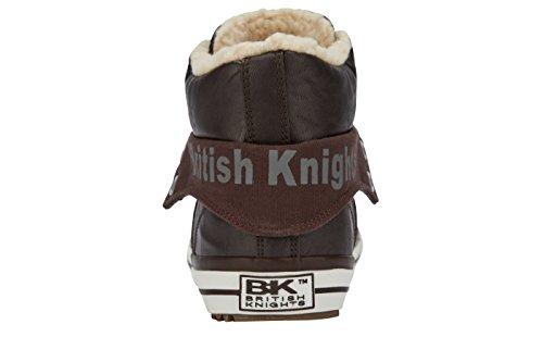 British Knights Roco, Baskets Basses Homme MARRON FONCÉ