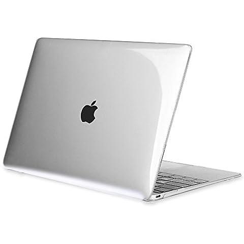 Fintie Macbook Retina 12 Funda - Ultra Slim Plástico Hard Shell Funda Snap Case para Apple The New Macbook 12