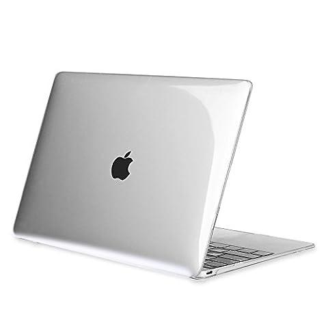 Fintie MacBook 12 Retina Hülle - Ultra Slim Plastik Hartschale Schutzhülle Snap Case für Macbook 12